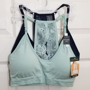 New!!! 2 pack lace bralettes sports bras